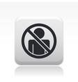 access forbidden icon vector image vector image