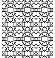 black pattern on white background vector image