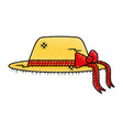 female farmer hat icon vector image vector image