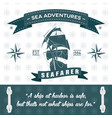 ship themed rope detailed sea adventures vector image vector image