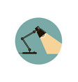 table office lamp vector image