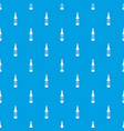 wine bottle pattern seamless blue vector image vector image