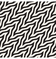 ZigZag Stripes Optical Seamless vector image vector image