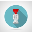 Flat icon for kitchen Mincer vector image
