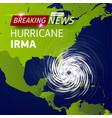breaking news tv realistic hurricane cyclone