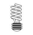 energy saving lightbulb eco friendly related icon vector image vector image