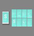 modern ui gui screen design vector image