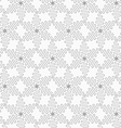 Slim gray wavy diamonds forming connecting stars vector image vector image
