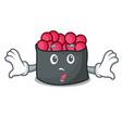 surprised ikura mascot cartoon style vector image vector image