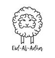 muslim holiday eid al-adha vector image