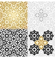 Oriental style elements vector image