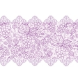 Purple lace grape vines horizontal seamless