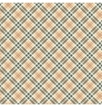 Scottish checked ornament seamless pattern vector image vector image