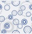 technology gears seamless pattern mechanical vector image