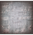 abstract grunge gray music symbols background vector image vector image