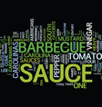 bbq safety tips text background word cloud concept vector image vector image