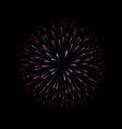 fireworks new year celebration festive night vector image vector image