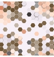 Hexagonal seamless pattern Repeating geometric vector image vector image