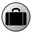 Portfolio button vector image vector image