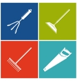 Set of Colored Farming Icons vector image vector image