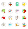 Toy icons cartoon style vector image vector image