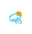 weather and season logo icon design vector image vector image