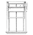 window shade adjuster awning windows vintage vector image vector image