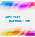 abstract colorful geometric overlapping background vector image vector image