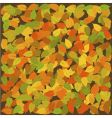 autumn colors vector image vector image