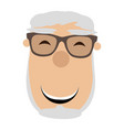 avatar of a grandfather vector image vector image