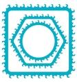 Azure Frames vector image vector image