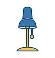 desk light lamp vector image vector image