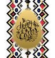 Happy Easter Sign symbol logo vector image vector image