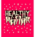 Healthy teeth Typographic grunge dental poster vector image
