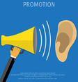Promotion concept vector image vector image
