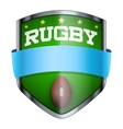 Rugby Shield badge vector image vector image