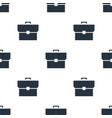 seamless case pattern education symbol from icon vector image vector image