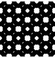 simple black and white seamless pattern vector image
