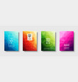 Triangle polygonal abstract background colorful