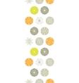 abstract gray and green polka dot backgr vector image vector image