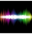 Sound Equalizer Wave Abstract Background vector image vector image