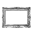 The antique frame vector image vector image