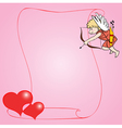 young cupid vector image