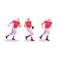 american football players vector image