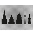 city skyline urban landscape vector image