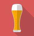 Glass of beer icon vector image vector image
