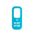 hanger tag icon flat style vector image
