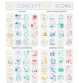 infographics concept icons of ecology heavy power vector image vector image