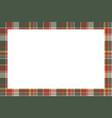 rectangle frame vintage pattern design template vector image