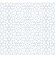 seamless linear pattern in blue color vector image